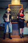 Ra met Mari by WandaRocket