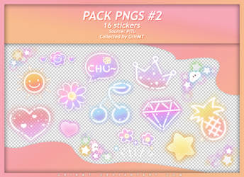 PACK PNGS #2 : FLUORESCENT PARTY by GrinMT