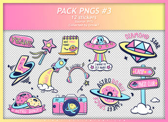 PACK PNGS #3 : CANDY PLANET by GrinMT