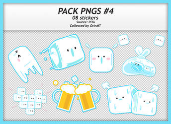 PACK PNGS #4 : ICE BUDDIES by GrinMT