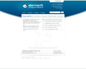 Alarmsoft - Client area