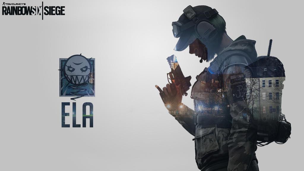 Ela Rainbow Six Siege Wallpaper: Ela Background Art By SilentWolfDrops