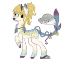 Flower Fawn Ref by cloudsabovedawn