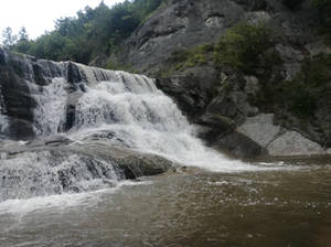 Hristovski waterfall