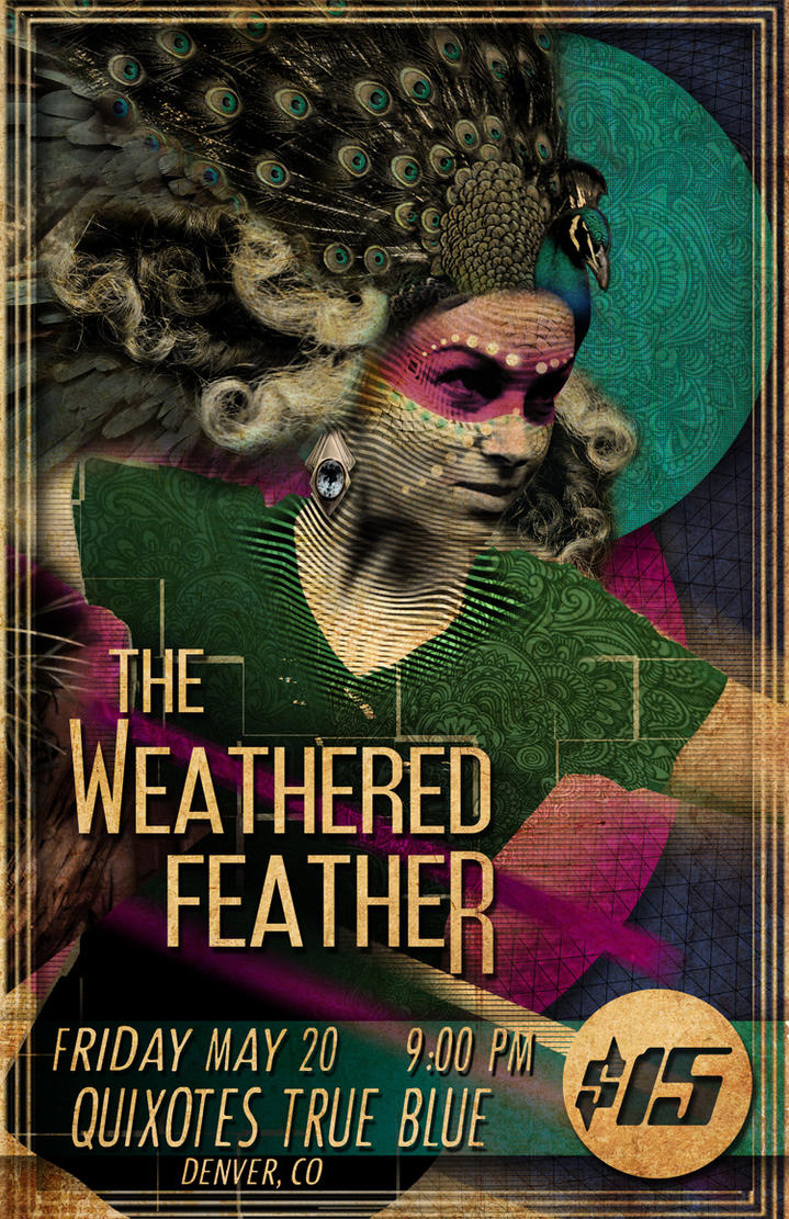 Weathered-feather-poster by drew3