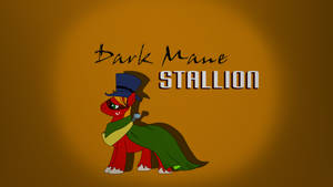 Dark Mane Stallion by Amana07