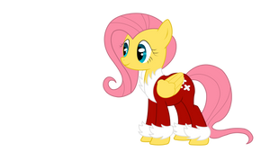 Fluttershy -Holiday- by Amana07