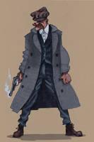 Arthur Shelby- Peaky blinders