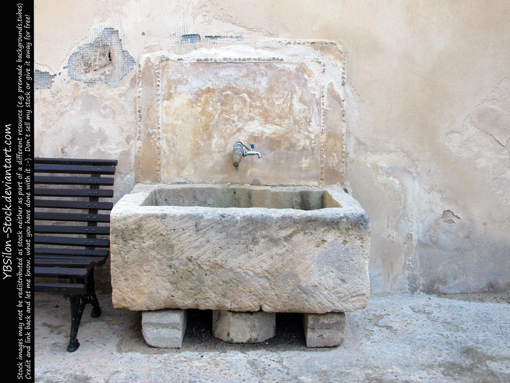 Historical washbasin by YBsilon-Stock