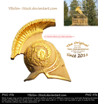 Golden Helmet by YBsilon-Stock