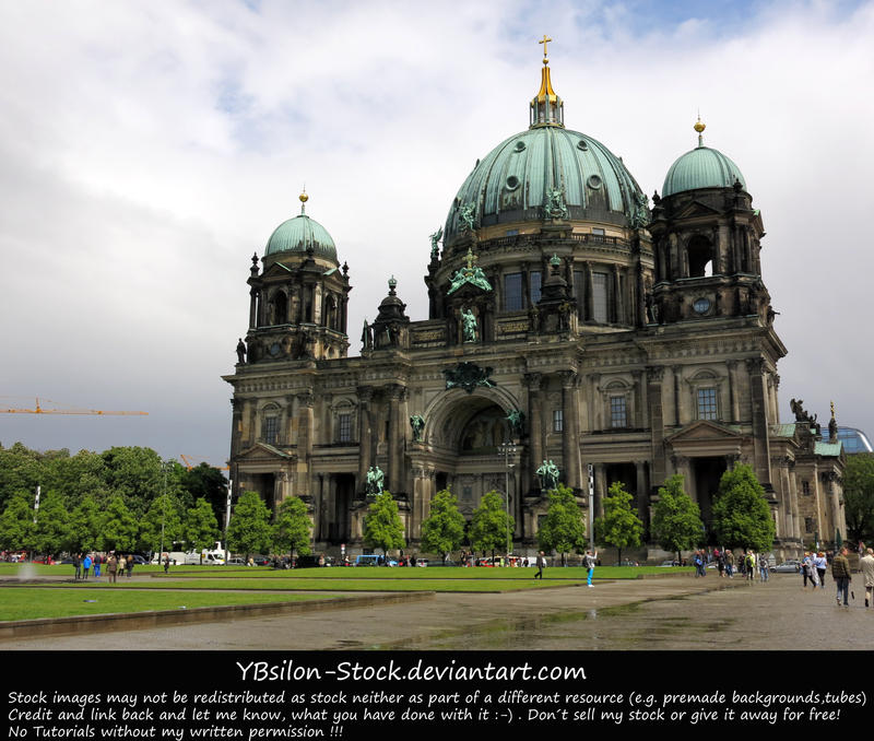 Berliner Dom by YBsilon-Stock