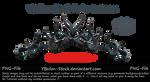 Tiara with thornes by YBsilon-Stock by YBsilon-Stock