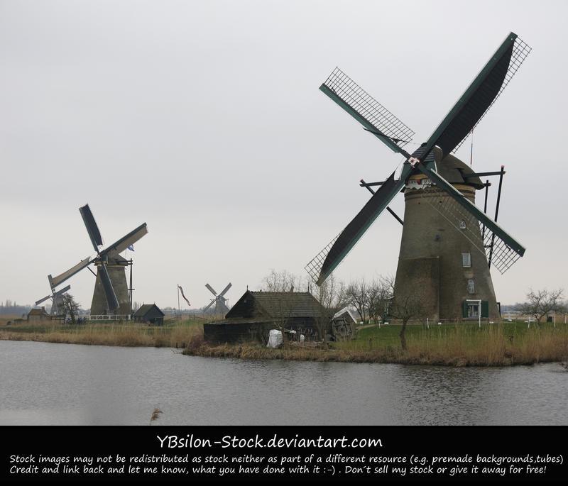 Kinderdijk 8 by YBsilon-Stock