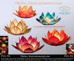 Shiny Lilies by YBsilon-Stock