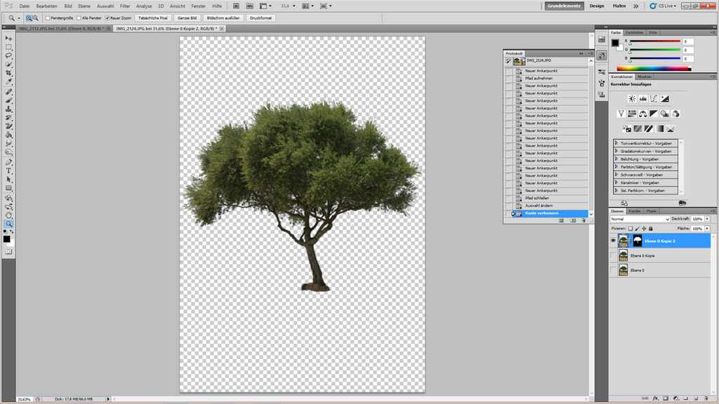 How to cut out a tree 15 by YBsilon-Stock