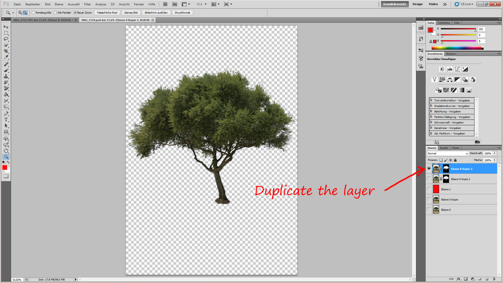 How to cut out a tree 19 by YBsilon-Stock