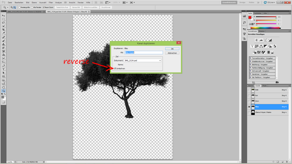 How to cut out a tree 22 by YBsilon-Stock