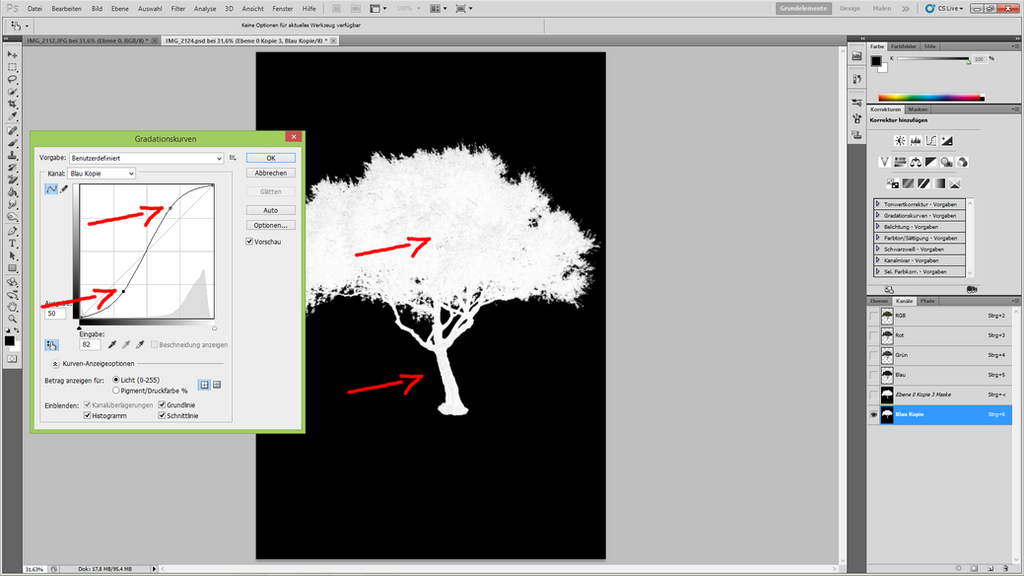 How to cut out a tree 25 by YBsilon-Stock