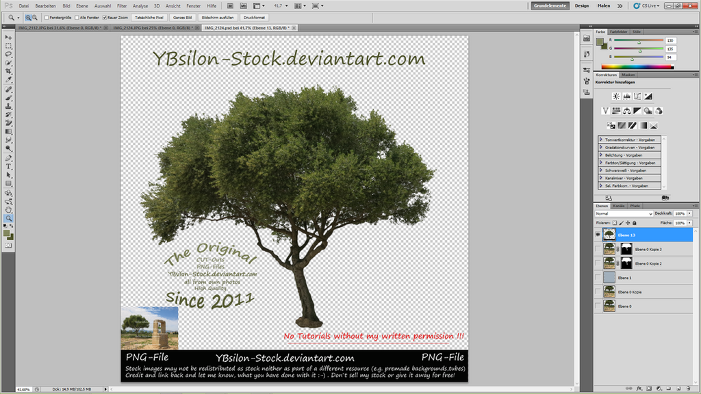 How to cut out a tree 32 by YBsilon-Stock
