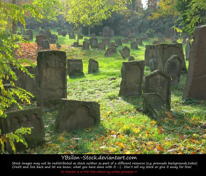 Jewish Cemetery II by YBsilon-Stock