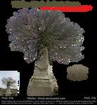 Wintertree on Gravestone by YBsilon-Stock by YBsilon-Stock