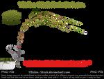 Green Ivyleaves by YBsilon-Stock by YBsilon-Stock