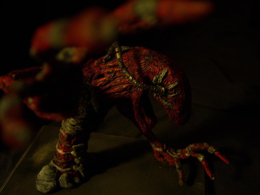 Monster Z side hand