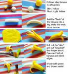 Polymer Clay : Banana Tutorial
