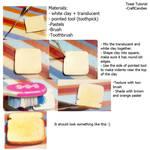 Polymer Clay : Toast Tutorial