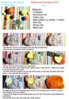 Polymer Clay : Rilakkuma Cake Tutorial - Part 1 by CraftCandies
