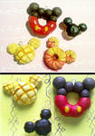 Polymer Clay : Mickey Mouse Disney sweets