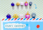 Polymer Clay : Adventure Time paper clips