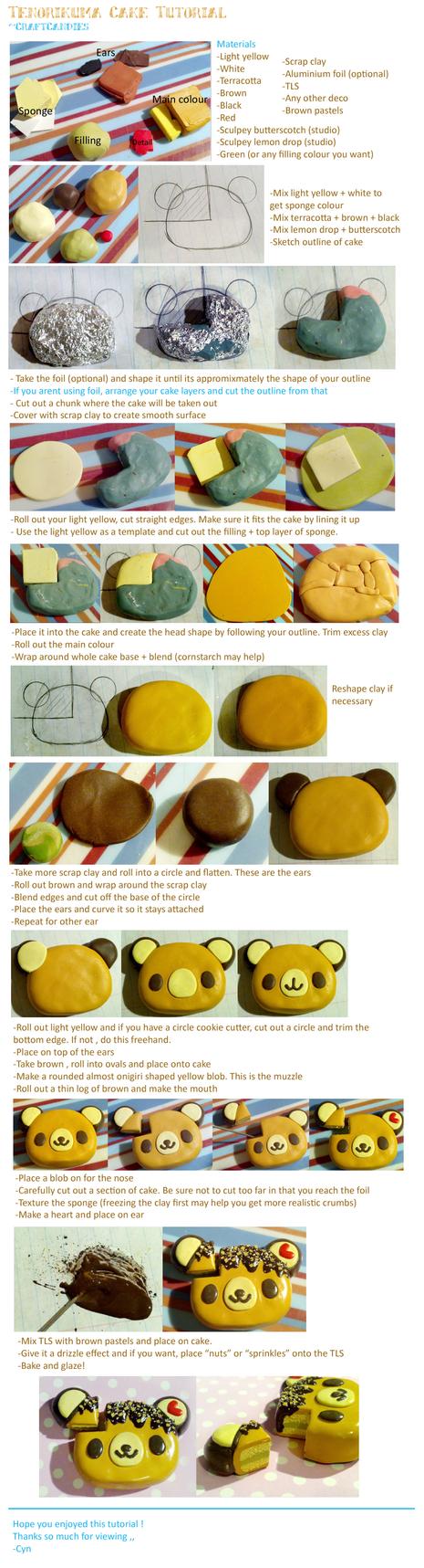 Polymer Clay Cake Tutorial Deviantart
