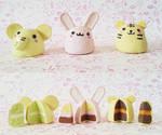 Polymer Clay : Animal Cakes