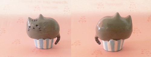 Polymer Clay : Pusheen by CraftCandies