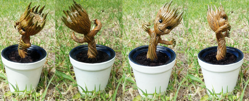 GotG: Baby Groot by CraftCandies