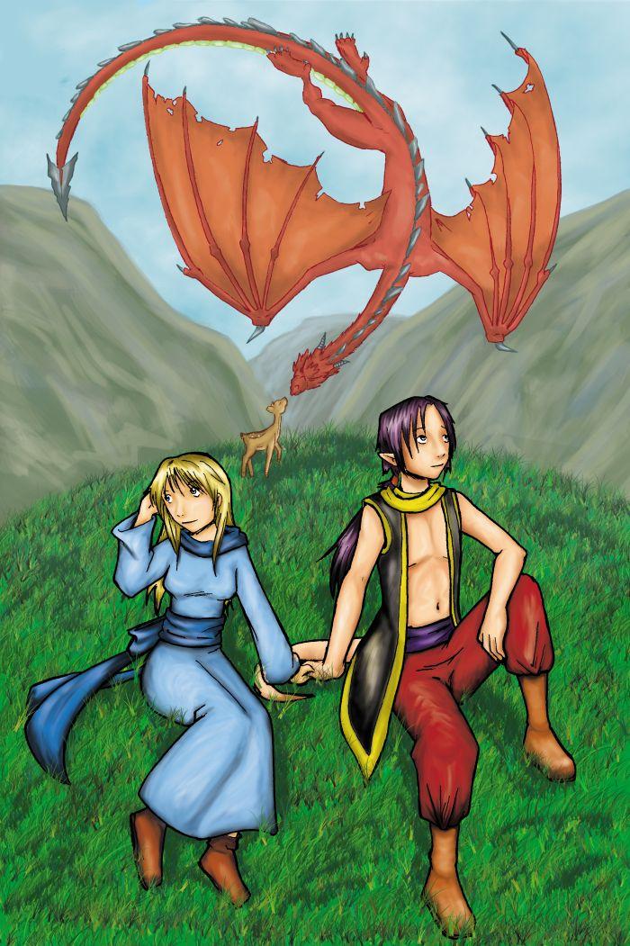 Dibujo dragon terminado by karuchan87