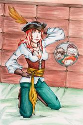 /Roll: Piratas de agua dulce by karuchan87