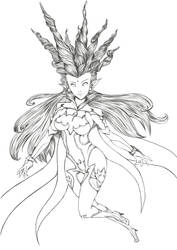 Shiva FFXIV by karuchan87