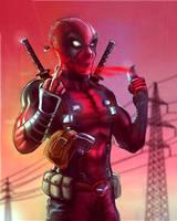 Deadpool by elprofheta
