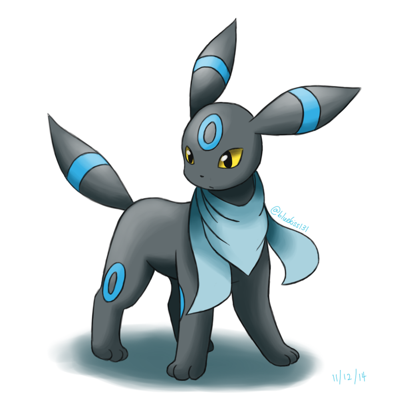 Shiny Umbreon by Lucario10192 on DeviantArt