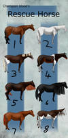 CB   Rescue Horses (Draw to claim) (2/8 Open!)