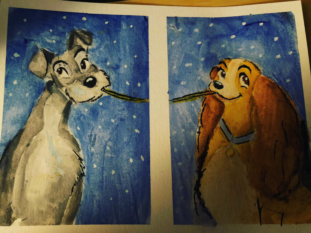 Lady And The Tramp Fan Art By Eholmes2026 On Deviantart