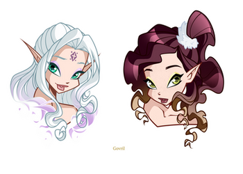 Liliadria and Esther