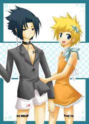 Sasuke+Naru-chan :.