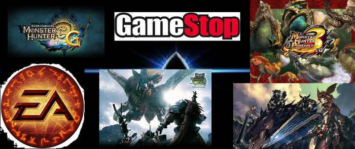 gamestop monster hunter 3 loge