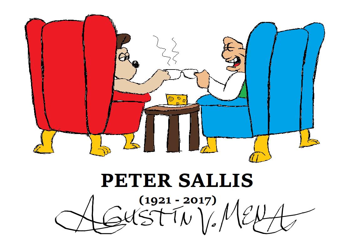 Peter Sallis (1921 - 2017) by AVM-Cartoons