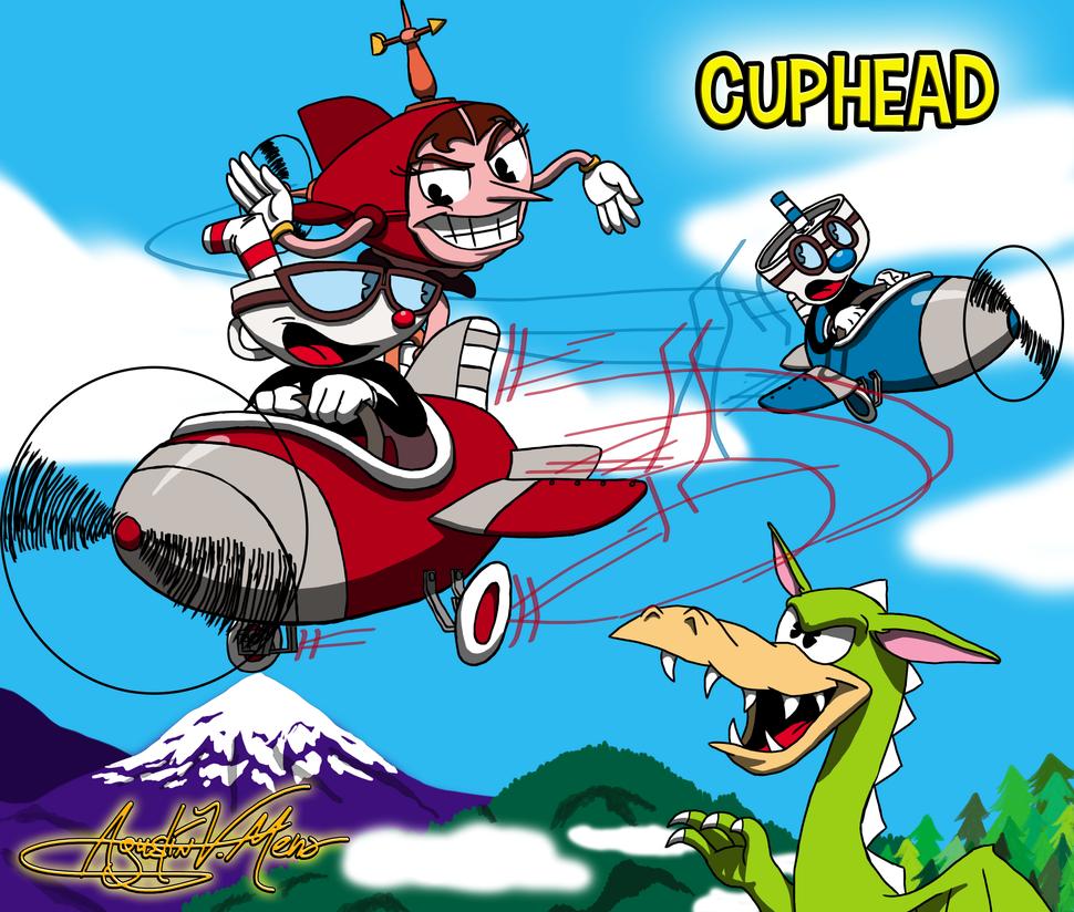 Plane Adventure by AVM-Cartoons