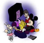 Comforting SpongeBob