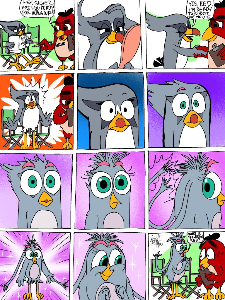 Before Of Angry Birds 2 Movie By Avm Cartoons On Deviantart